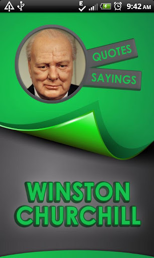 Winston Churchill Quotes Says