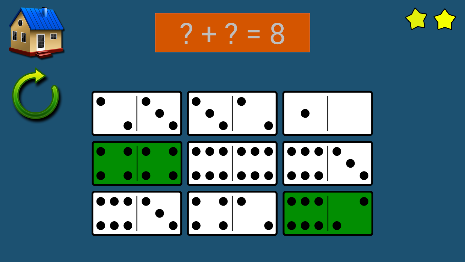 Dominoes Addition- screenshot