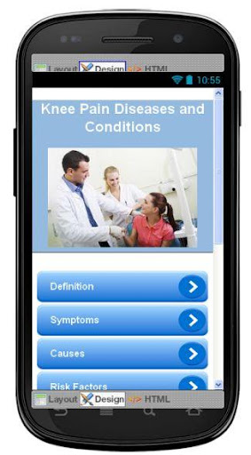 Knee Pain Disease Symptoms