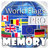 World Flags Memory PRO