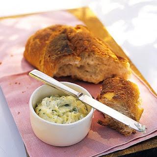 Warm Bread with Garlic-Herb Butter