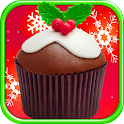 Christmas Cupcakes Maker FREE icon