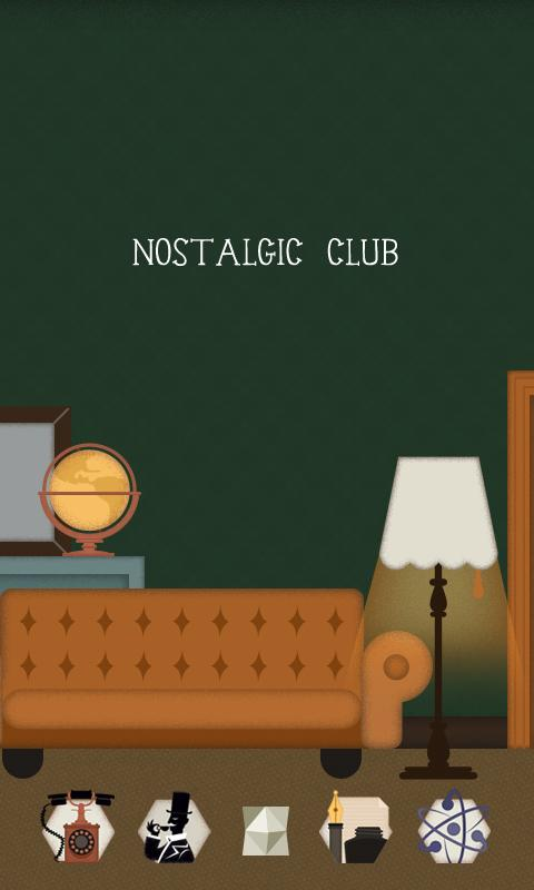 Nostalgic club GOLauncherTheme - screenshot