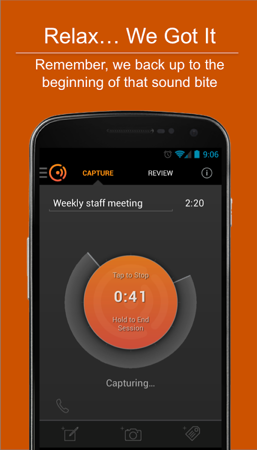 Cogi – Notes & Voice Recorder - screenshot
