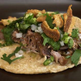 Traci Des Jardins's Carnitas Tacos Recipe