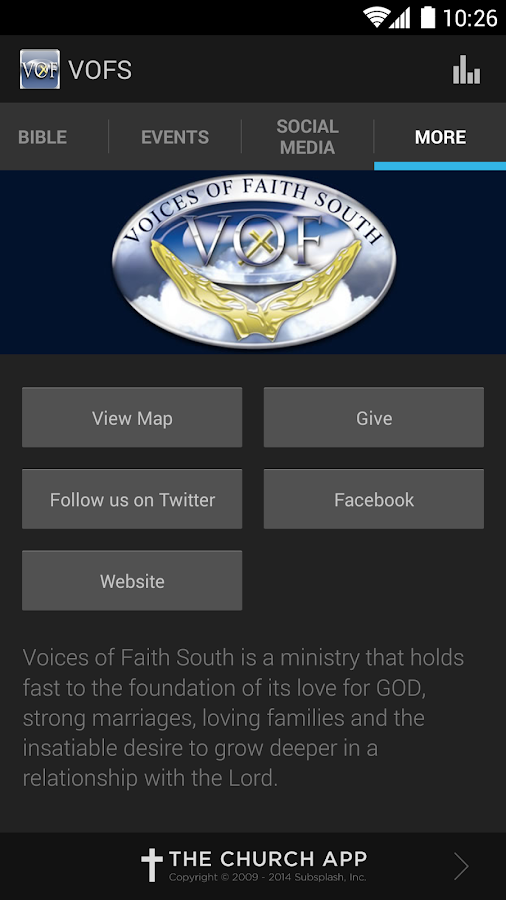 Voices Of Faith South - screenshot