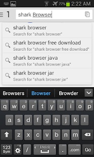 Shark Browser- screenshot thumbnail