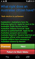 Screenshot of Australian Citizenship Pro