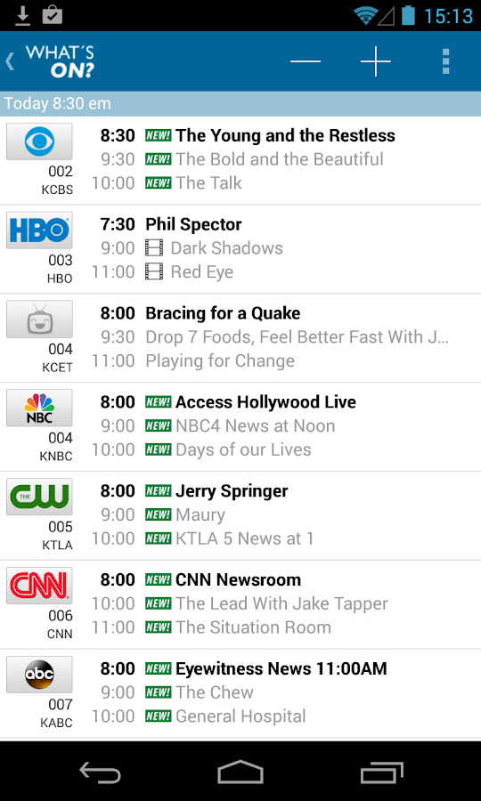 TV Listings by TV24 - screenshot