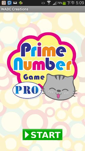 Prime Number Game PRO