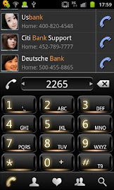 RocketDial Vita Minka Theme Screenshot 1