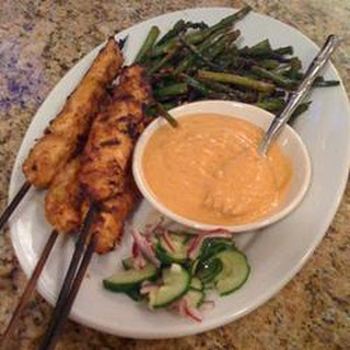 Marty's Thai Chicken Satay