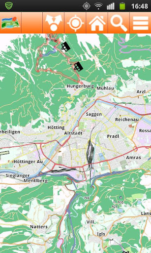 Innsbruck Offline mappa Map