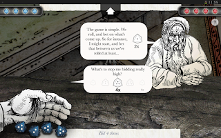 Screenshot of Sorcery! 2