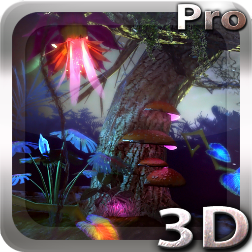 Alien Jungle 3D Live Wallpaper app for Android