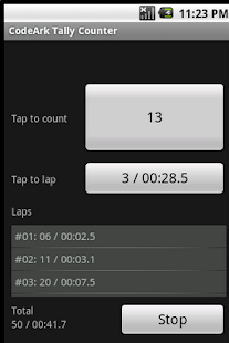 CodeArk Tally Counter- screenshot thumbnail