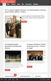 Periodico Digital - screenshot thumbnail