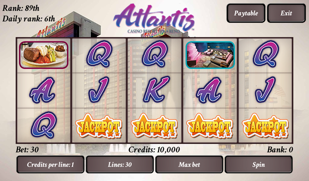Atlantis Reels - Slot Contests - screenshot