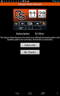 Oregon State Live Clock- screenshot thumbnail