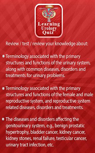 Learning Urology Quiz