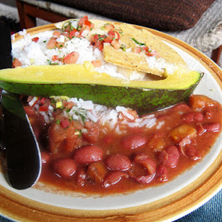 Colombian-style Beans and Rice