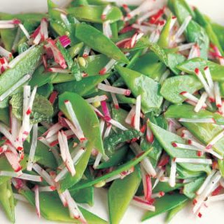 Snow Pea and Radish Salad
