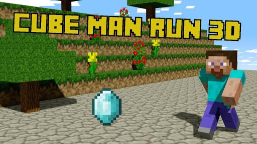 Cube Man Run 3D