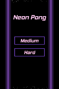 Neon Pong - screenshot thumbnail
