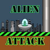 Alien Attack (Flappy Ad Free)
