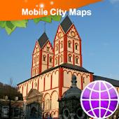 Liege (Luik) Street Map