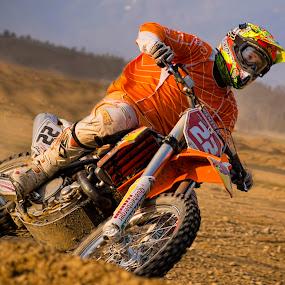 Dirt bike by Stane Gortnar - Sports & Fitness Motorsports (  )