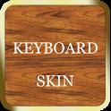 Gold & Wood Keyboard Skin icon