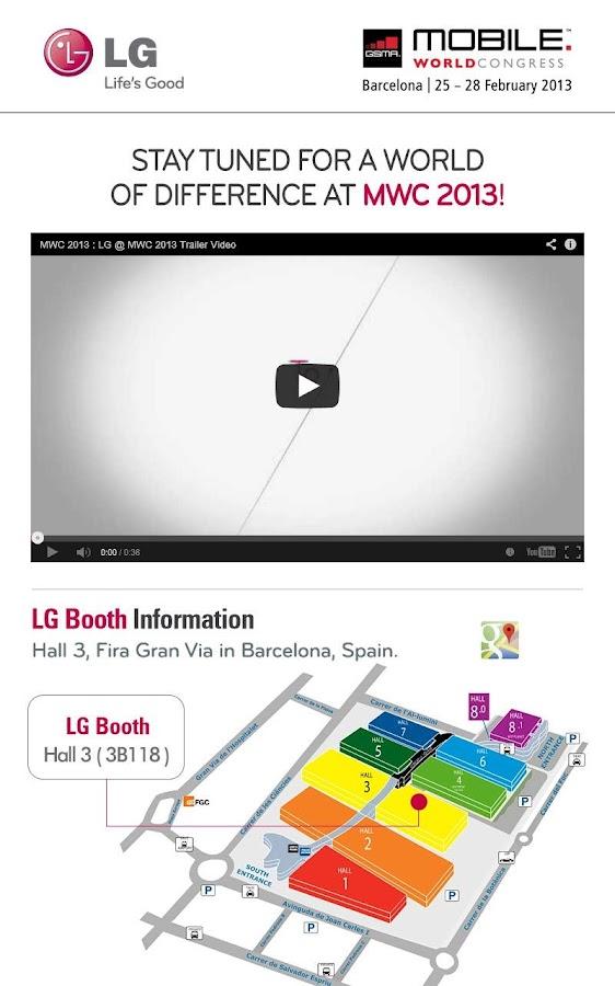 LG MWC - screenshot