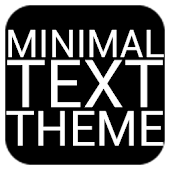 Minimal Text THEME - PAID