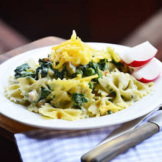 Farfalle Pasta With Spinach Recipes.