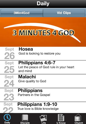 LifeTree Discipleship App