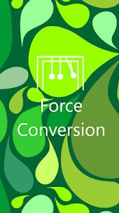 Force Conversion Screenshot 1