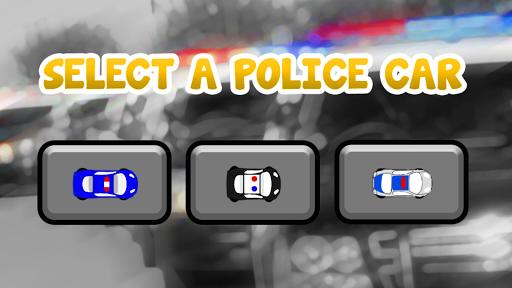 Parking Police Car