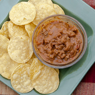 Beef and Bean Dip or Burrito Filling