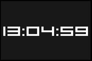 Screenshot of Ximo's Clock