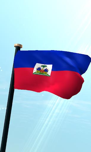 海地旗3D免費動態桌布