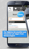 Screenshot of Mathleaks