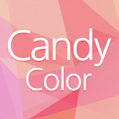 Candy Color Atom Theme
