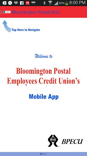 Bloomington Postal ECU App