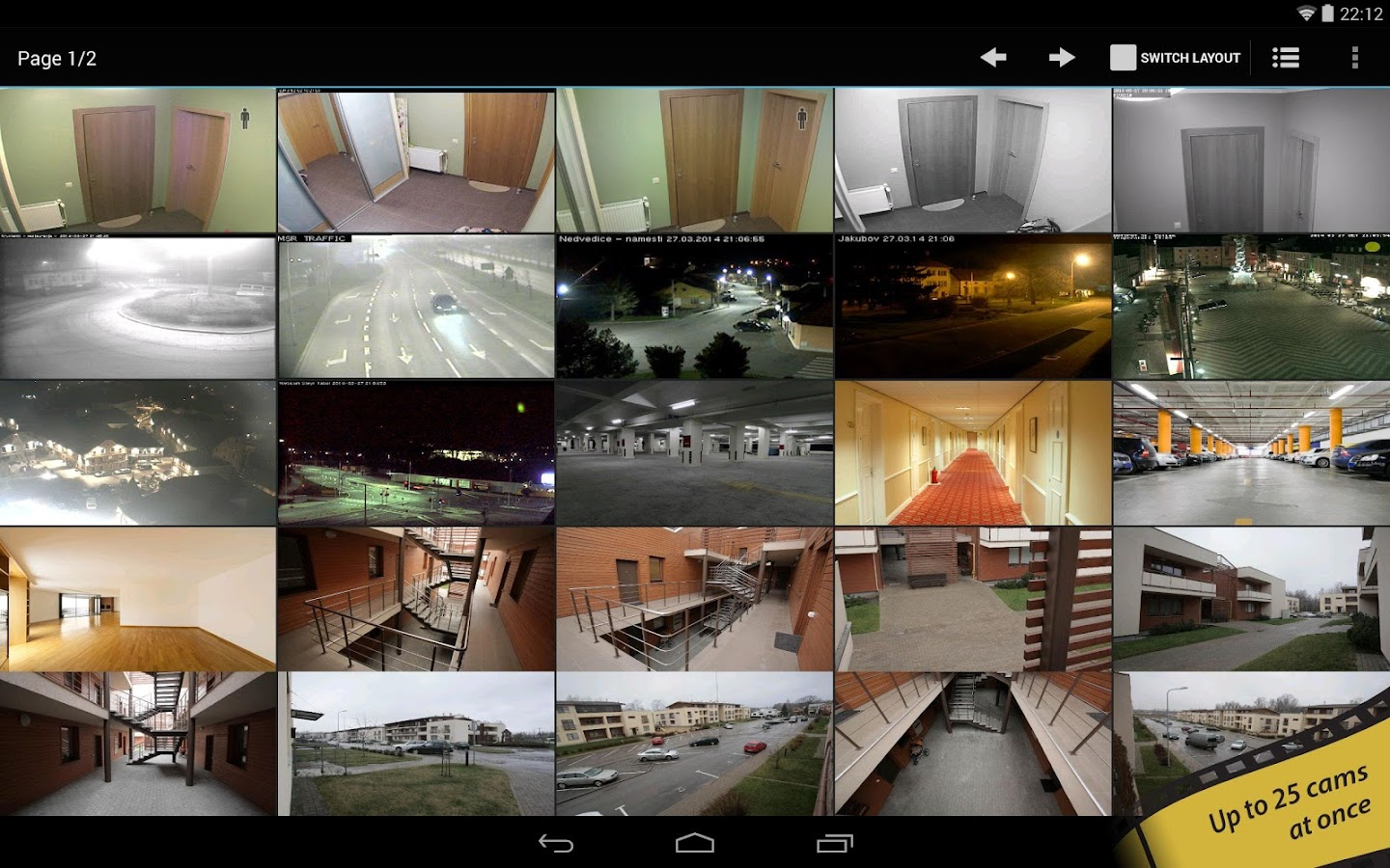 tinyCam Monitor PRO (SALE!) - screenshot