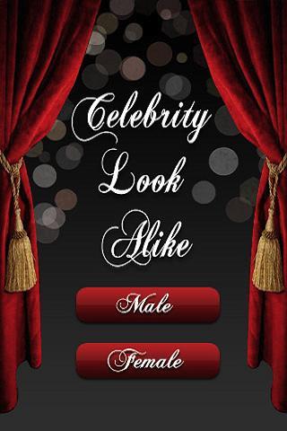 Celebrity Look Alike - screenshot