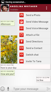 TanaMe FREE - call,im,sms,mail - screenshot thumbnail