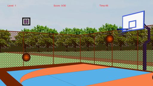 カジュアルバスケットボール