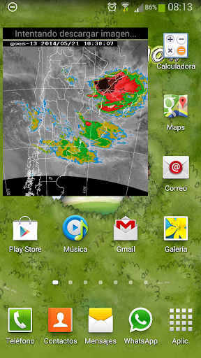 Imagen Satelital Argentina