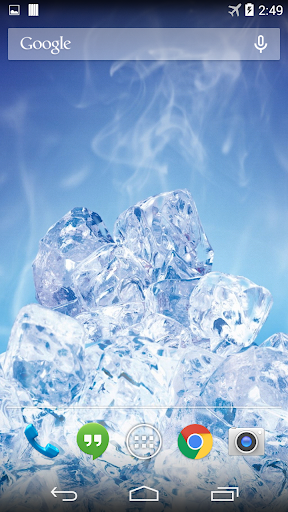 Ice Cubes Live Wallpaper FREE